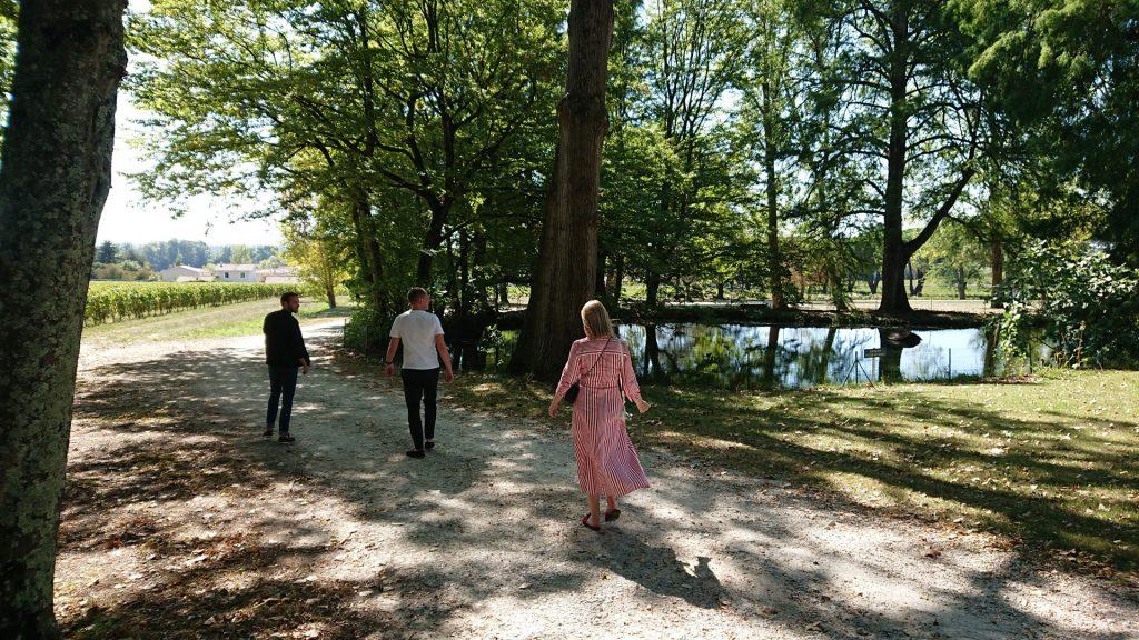 Le parc du Château La Dauphine