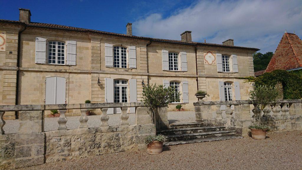 Fronton du Château Lassègue