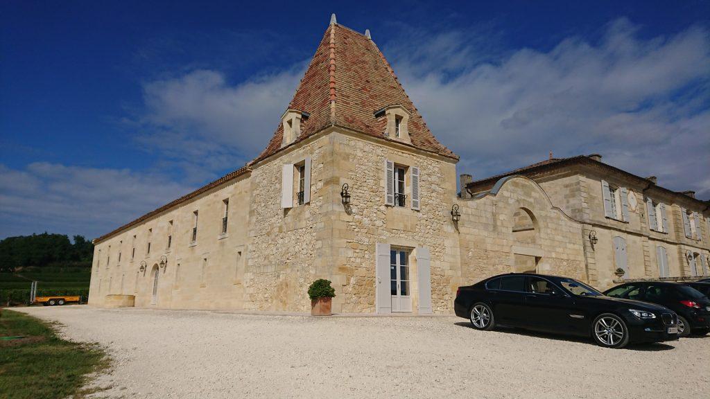 Aile gauche du Château Lassègue