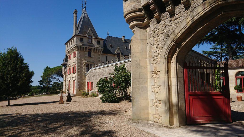Extérieur du Château de Pressac