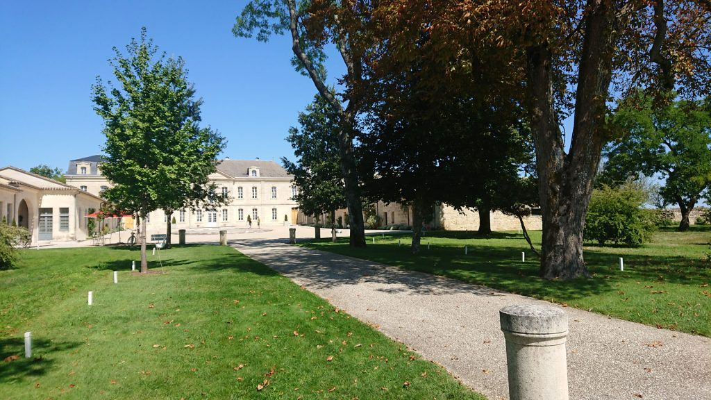 Facing Chateau Soutard